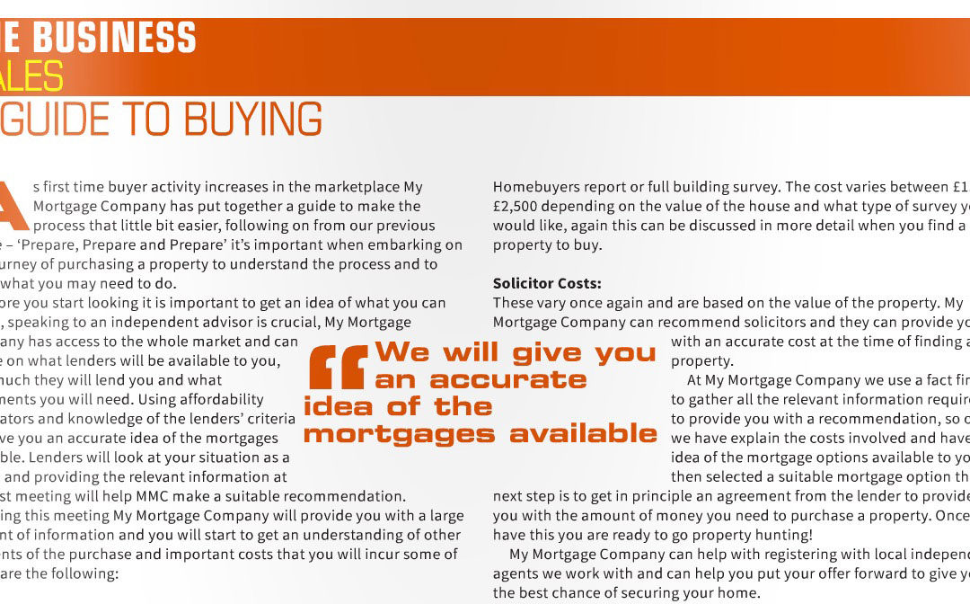 A Guide To Buying By My Mortgage Companies In 'Latest Home' Magazine